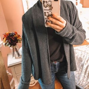 Madewell green cardigan knit. Size small